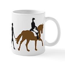 evolution horse riding Mug