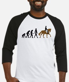 evolution horse riding Baseball Jersey