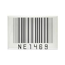 NE1 4 69 Rectangle Magnet