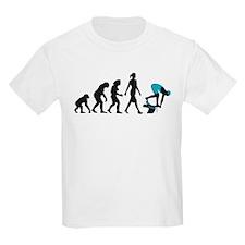 evolution female swimmer on startblock T-Shirt