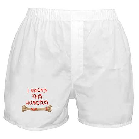 Found this humerus Boxer Shorts