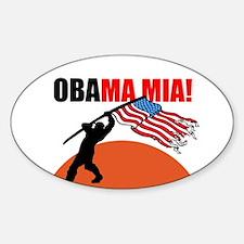 Obamamia! Sticker (Oval)