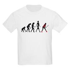 evolution female tennis player T-Shirt