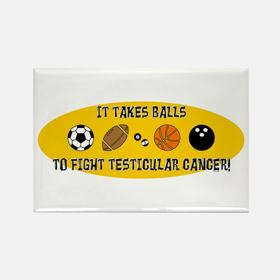 IT TAKES BALLS... Rectangle Magnet (10 pack)