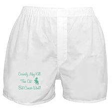 CURIOSITY... Boxer Shorts