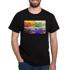 D Luis Art Deco T-Shirt