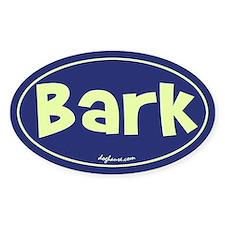 Bark Oval Decal