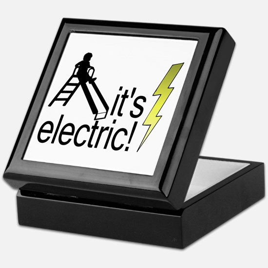The Electric Slide Keepsake Box