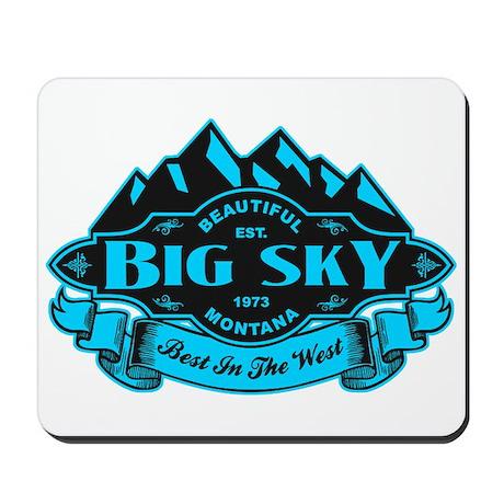Big Sky Mountain Emblem Mousepad