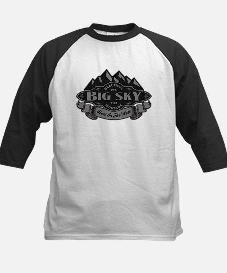 Big Sky Mountain Emblem Kids Baseball Jersey