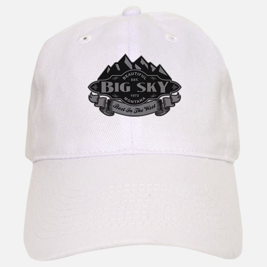 Big Sky Mountain Emblem Baseball Baseball Cap