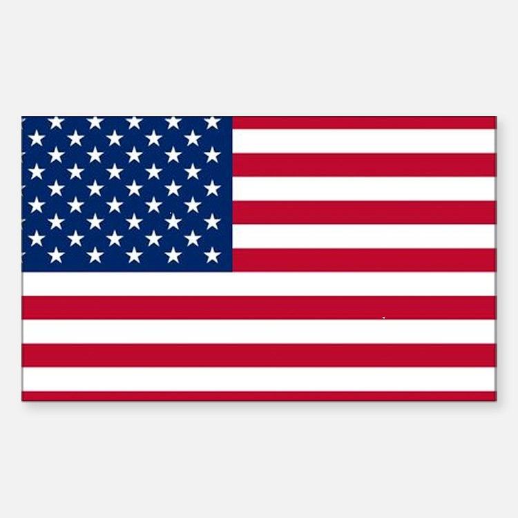 USA Flag Bumper Stickers