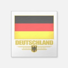 "Germany (Flag 10).png Square Sticker 3"" x 3"""