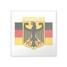 "Germany COA 2 (B).png Square Sticker 3"" x 3"""