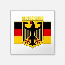 "Germany COA 2 (B).png Square Sticker 3"" x 3"""