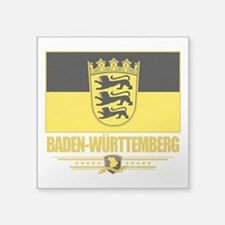 Baden-Wurttemberg (Flag 10).png Square Sticker 3""