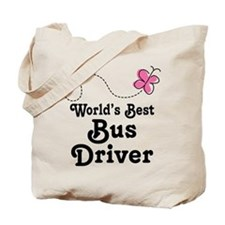 Cute Bus Driver Gift Tote Bag