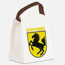 Stuttgart (gold).png Canvas Lunch Bag