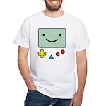 Pocket Game White T-Shirt