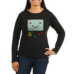 Pocket Game Women's Long Sleeve Dark T-Shirt