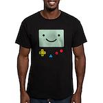 Pocket Game Men's Fitted T-Shirt (dark)