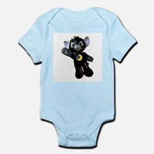 Black Moon Kitten Infant Creeper