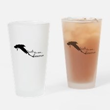 Quoth the Raven... Nevermore Drinking Glass