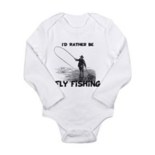 Fly Fishing Onesie Romper Suit