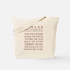 CANCER... Tote Bag
