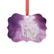 Pink Fairytale Castle Ornament