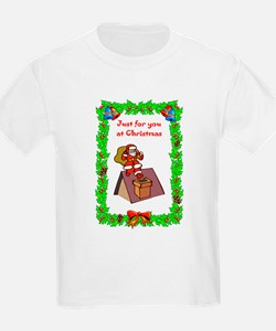 Santa on the roof T-Shirt