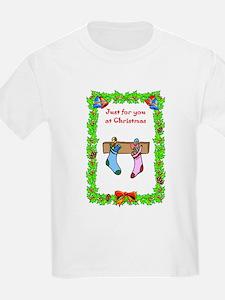 Christmas stockings, Just for you at Christmas Kid