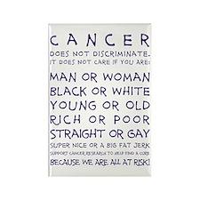 CANCER... Rectangle Magnet