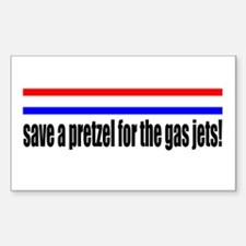 save a pretzel for the gas jets rick perry Decal