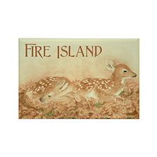 Fire Island Fawns Magnet