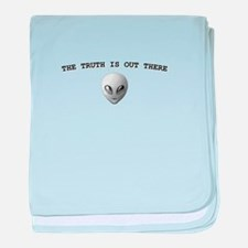 THE TRUTH IS OUT THERE baby blanket