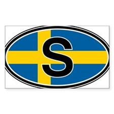 Sweden Euro Oval Decal