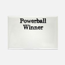 Powerball winner lotto jackpot Rectangle Magnet