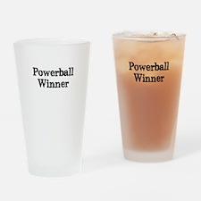 Powerball winner lotto jackpot Drinking Glass