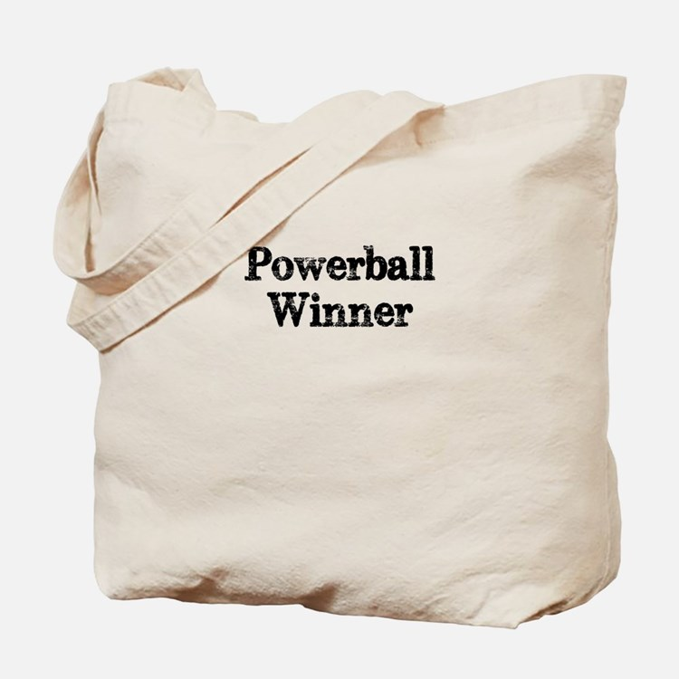 Powerball winner lotto jackpot Tote Bag