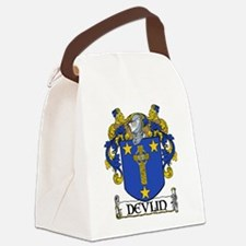 Devlin Coat of Arms Canvas Lunch Bag