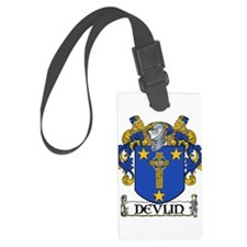 Devlin Coat of Arms Luggage Tag