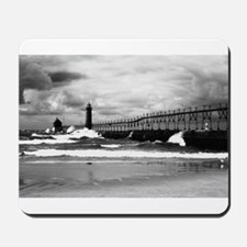 Lake Michigan Dark Mousepad