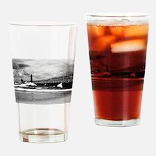 Lake Michigan Dark Drinking Glass