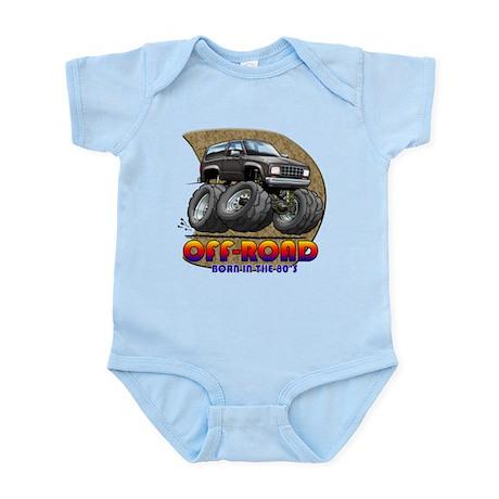 Black B2 Infant Bodysuit