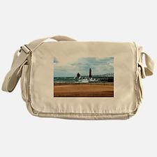 Lake Michigan Beach Messenger Bag