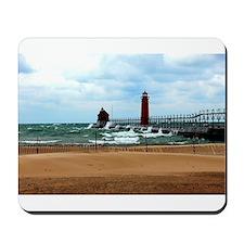 Lake Michigan Beach Mousepad