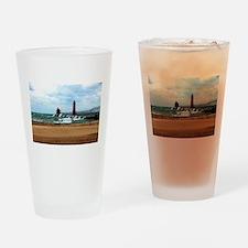 Lake Michigan Beach Drinking Glass