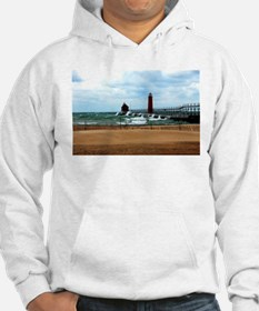 Lake Michigan Beach Hoodie