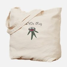 Clyde frog Tote Bag